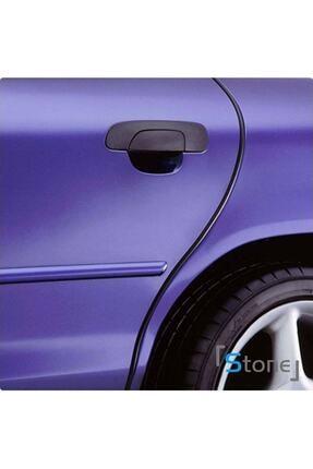 Unikum Dacia Sandero Geçmeli 3 Metre Kapı Bagaj Koruyucu Şerit 5 Mm U Tipi Siyah 3