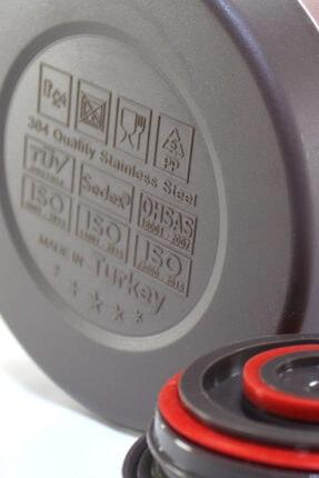 Cooker Ckr2025 Pembe 2.0 Litre 304 Paslanmaz Çelik Çay Ve Su Termosu 24 Saat Sıcak Soğuk 3