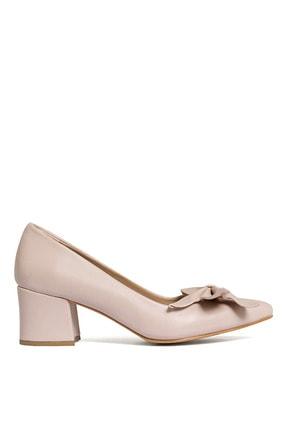 Kadın Pudra Topuklu Ayakkabı 117978