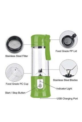 Beymen Blender Şarjlı Blender Mini Portatif Taşınabilir Mobil Kişisel Blender 380ml En Ahsen 2