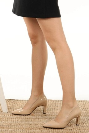 Mio Gusto Lita Ten Rugan Topuklu Ayakkabı 4