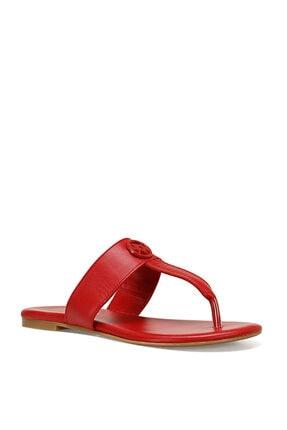 Nine West AVA Kırmızı Kadın Plaj Terliği 100526335 1