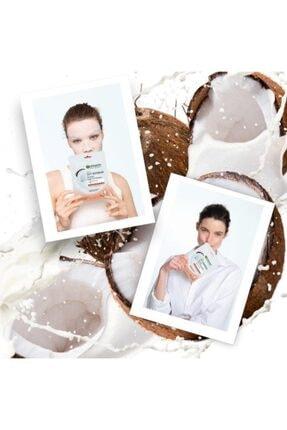 Garnier Süt Bombası Besleyici Kağıt Yüz Maskesi Hindistan Cevizi 3