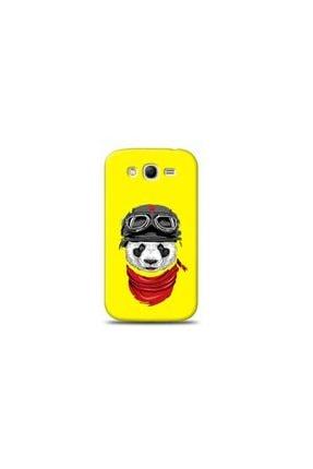 Kılıf Madeni Samsung Galaxy Grand 2 Panda Sarı Koleksiyon Telefon Kılıfı Y-srklf067 0