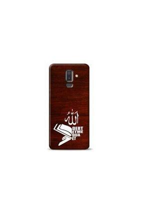 Kılıf Madeni Samsung Galaxy A6 Plus Dert Etme Dua Et Tasarımlı Telefon Kılıfı 0