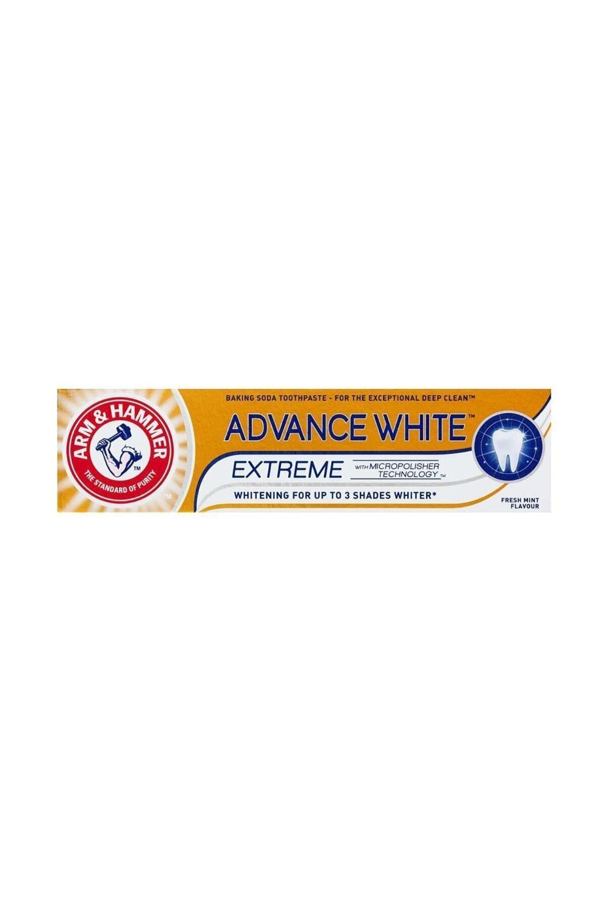 3 Tona Kadar Beyazlatıcı Diş Macunu - Advance White 75 ml 5010724525043