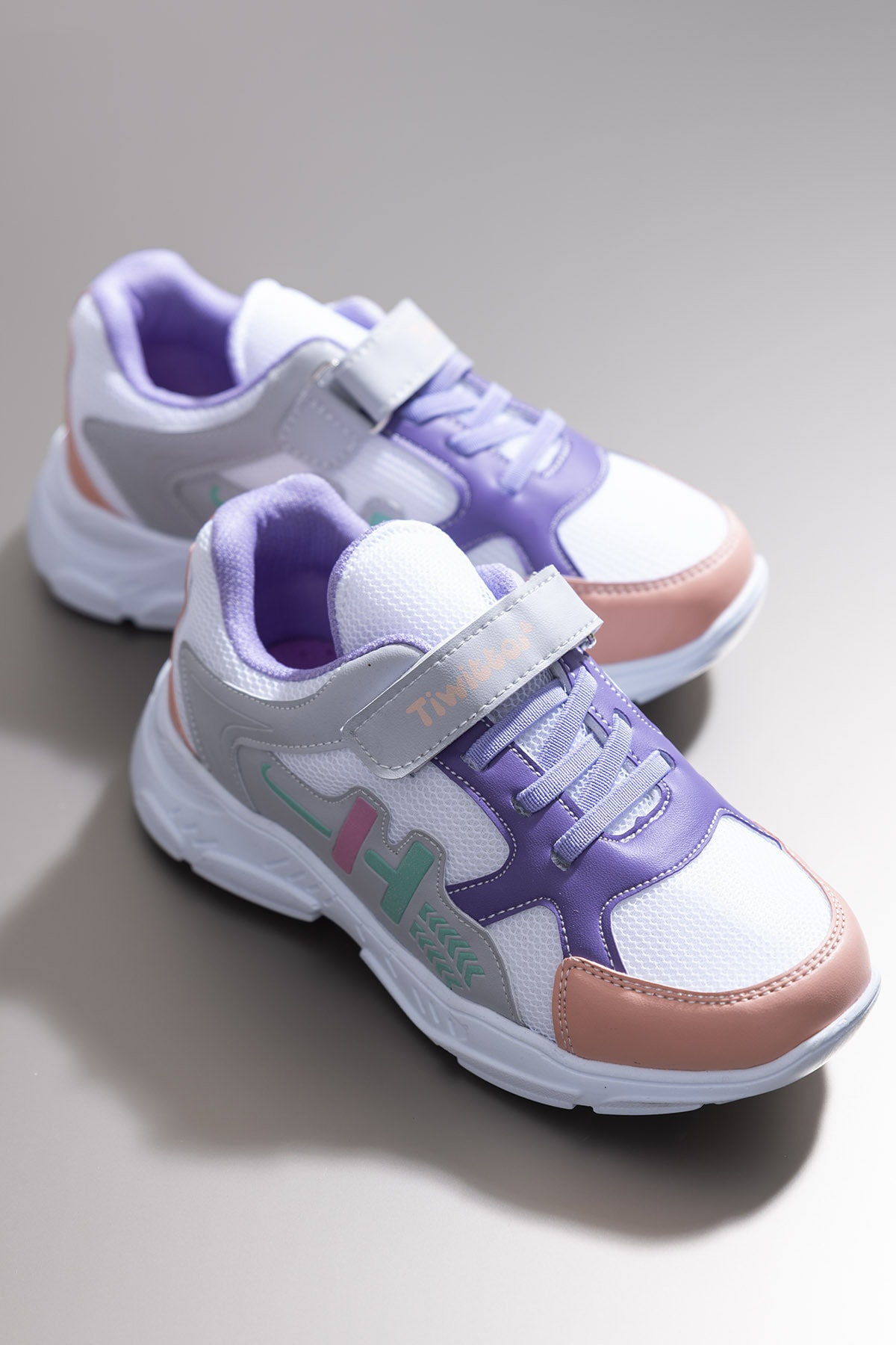 Tonny Black Beyaz Kız Çocuk Sneaker TBZ13-3 0