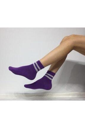 Adel Kadın Mor Kokulu Çorap 0