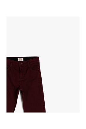 Koton Bordo Erkek Çocuk Pantolon 2