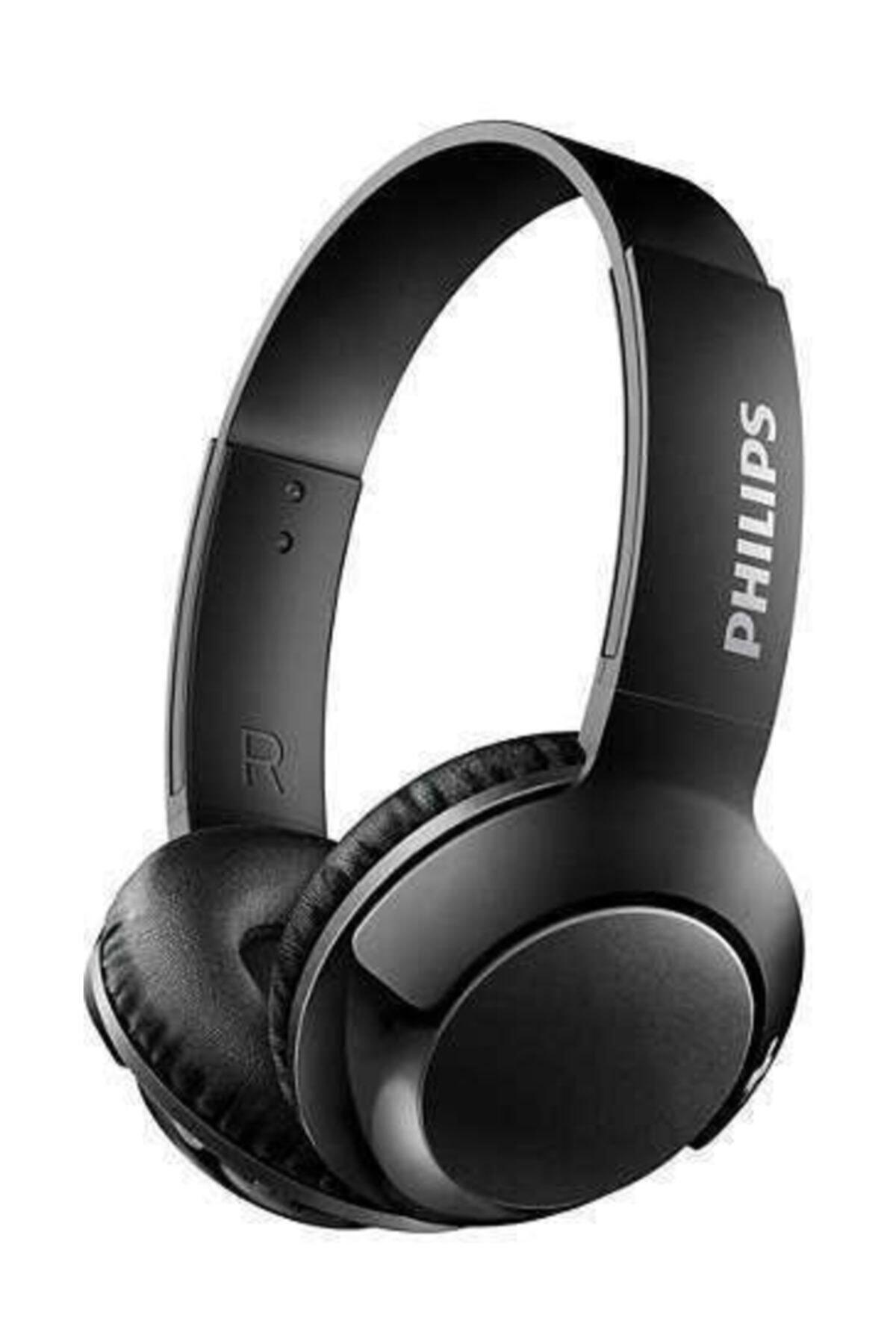 SHB3075BK/00 BASS+ Mikrofonlu Bluetooth Kulaklık - Siyah