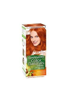 Garnier Saç Boyası - Color Naturals 7.4 Sultan Bakırı 3600541263680 0