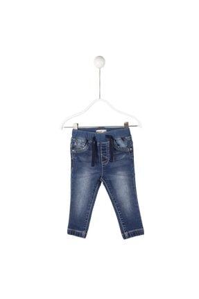 تصویر از A.mavi Renkli Cepli Pul Işlemi Kot Erkek Bebek Kot Pantolon   Pc 114707