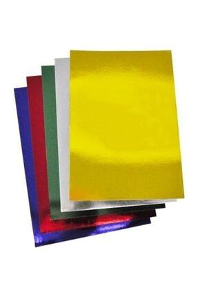 Rubenis 50x70 Cm. Aynalı Metalik Karton 5 Renk 10 Adet 0