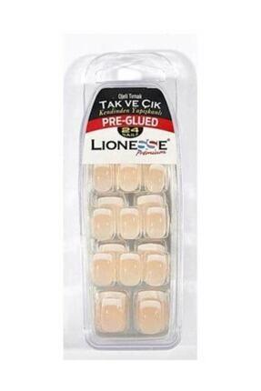 Lionesse Tak Ve Çık Ojeli Tırnak 4420 0