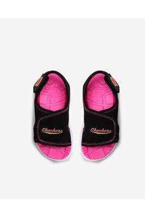 Skechers SYNERGY - AQUA BREEZE Küçük Kız Çocuk Siyah Sandalet 86786N BKHP 2