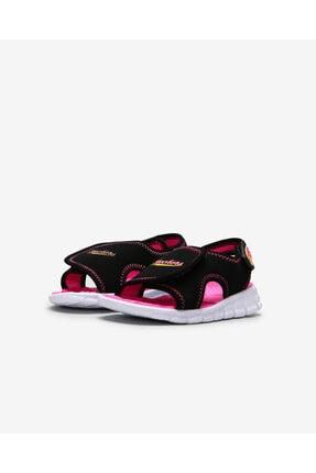 Skechers SYNERGY - AQUA BREEZE Küçük Kız Çocuk Siyah Sandalet 86786N BKHP 4