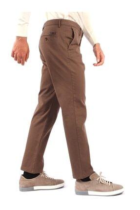 Dufy Vizon Büyük Beden Düz Erkek Pantolon - Battal 1