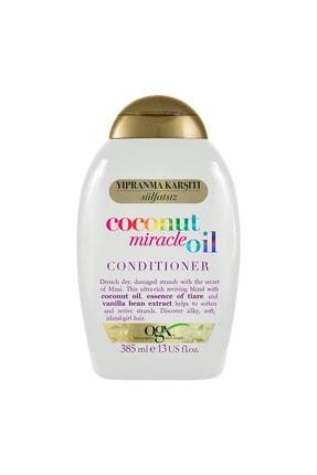 OGX Yıpranma Karşıtı Coconut Miracle Oil Sülfatsız Bakım Kremi 385 ml 1