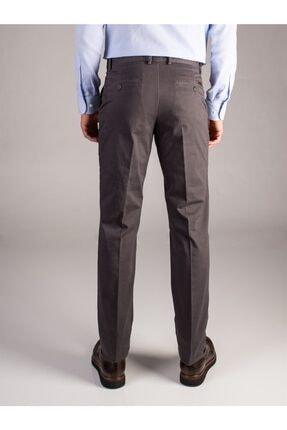 Dufy Antrasit Büyük Beden Düz Erkek Pantolon - Battal 2