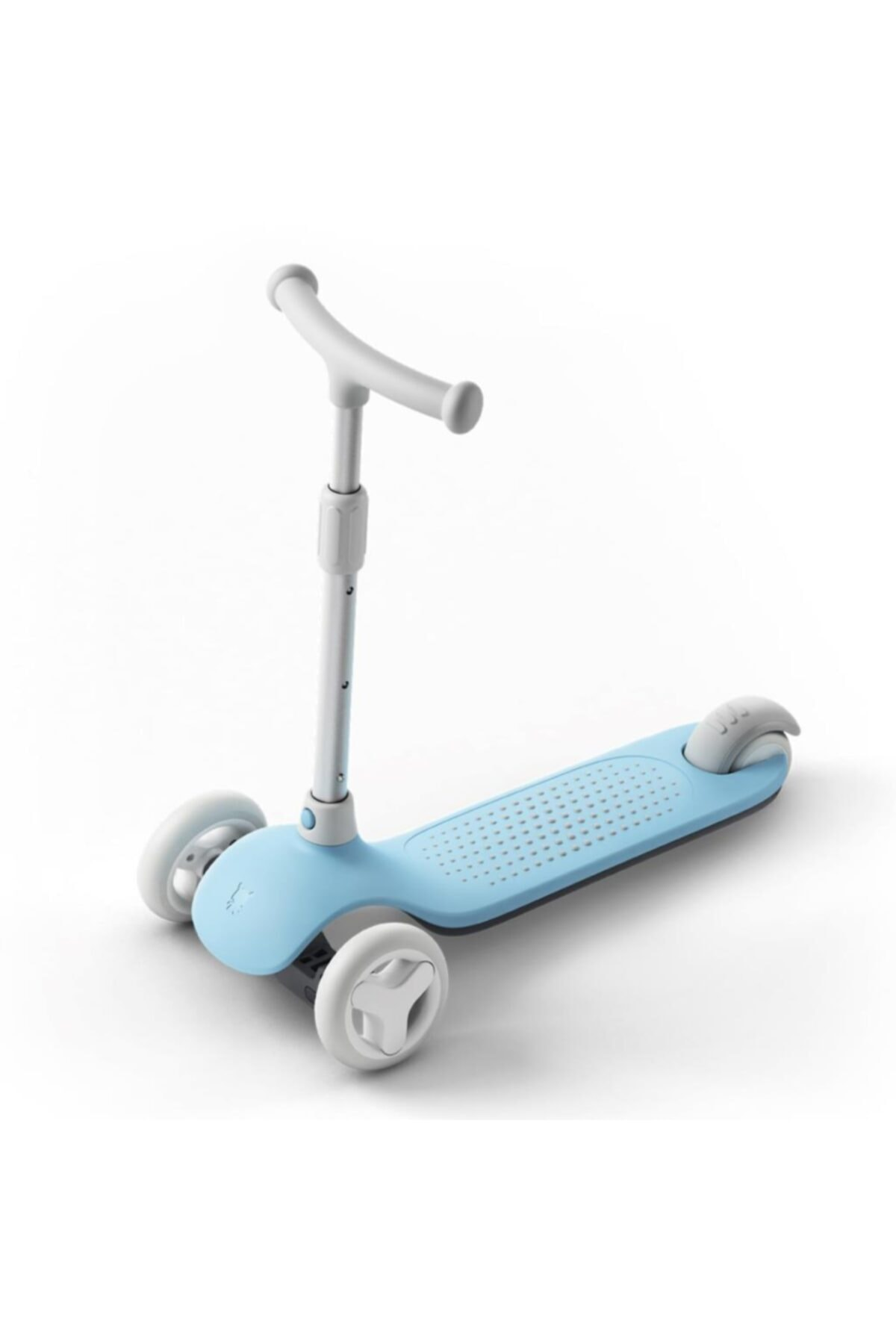 Mitu Işıklı Ayarlanabilir 3 Tekerlekli Scooter Mavi