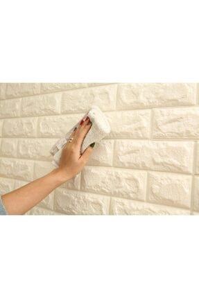 RENKLİ EVİM Tezgah Arası 3d Kendinden Yapışkanlı Esnek Sünger Tuğla Duvar Kaplama Paneli - Duvar Kağıdı 1