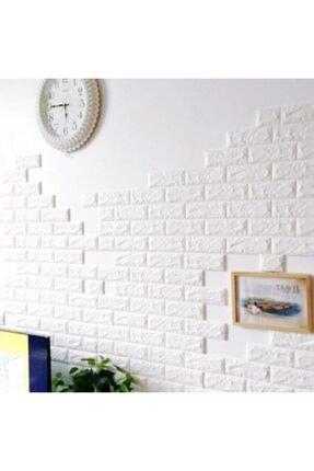 RENKLİ EVİM Tezgah Arası 3d Kendinden Yapışkanlı Esnek Sünger Tuğla Duvar Kaplama Paneli - Duvar Kağıdı 3