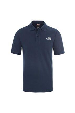 The North Face M POLO PIQUET - EU Mavi Erkek Kısa Kol T-Shirt 100576711 0