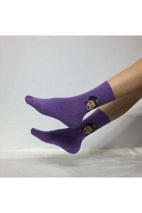 Adel Unisex Kolej Çorabı 0