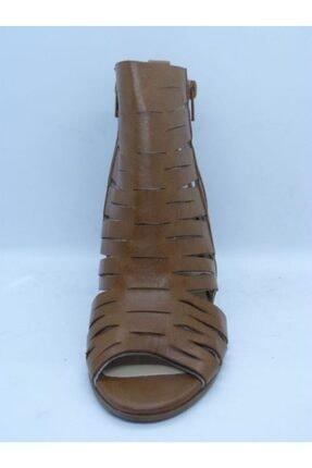 VİNİCCİ AYAKKABI Kadın Kahve Hakiki Deri Açık Ayakkabı 2
