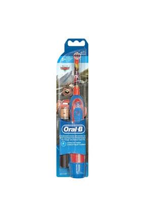 Oral-B Pilli Diş Fırçası Çocuk Mcqueen 0