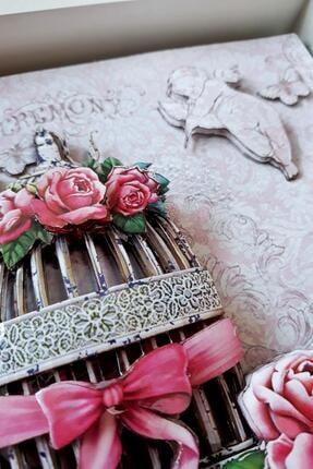 Rams Gümüş Romantizm, Güller Rölyef Tablo 3