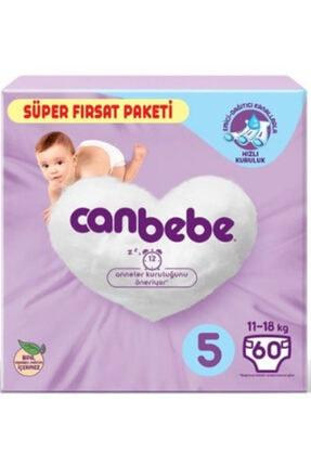 Canbebe Bebek Bezi Süper Fırsat Paketi 11-18 Kg No:5 60 Adet X 3 Lü Set 2