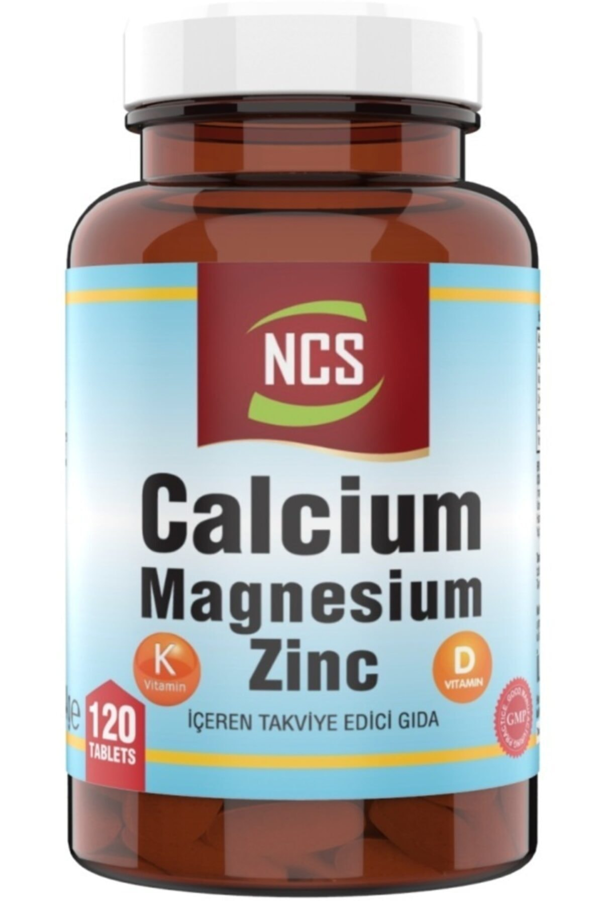 ® Calcium Magnesium Çinko D&k (kalsiyum Magnezyum Çinko) 120 Tablet