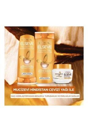 Elseve L'oréal Paris Mucizevi Hindistan Cevizi Yağı Ağırlaştırmayan Besleyici Şampuan 450 ml 4