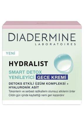 Diadermine Hydralist Detoks Yenileyici Gece Kremi 50 Ml. 2'li (üzüm Kompleksi-hyaluronik Asit) 1