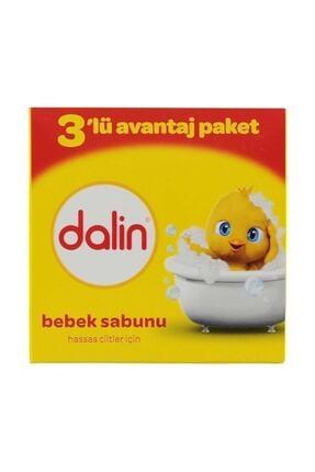 Dalin Bebe Sabun 100 Gr (3'lü Avantaj Paketi) 2