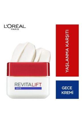 L'Oreal Paris Revitalift Kırışıklık Karşıtı Sıkılaştırıcı Gece Kremi 50 Ml 1