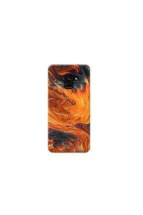 Kılıf Madeni Samsung J6 Veya J6 2018 Mermer Tasarımlı Telefon Kılıfı 0