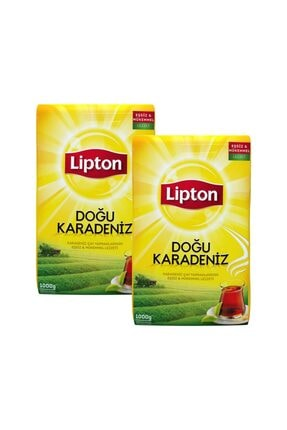 Lipton Doğu Karadeniz Dökme Çay 1000 Gr X 2 Adet 0