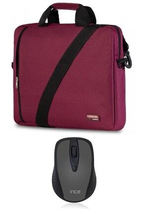 Picture of Bordo Notebook Çantası ve Inca Kablosuz Mouse Bnd205