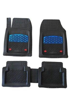 SAFİR Seat Malaga Uyumlu Universal Derin Krom Kırmızı Havuzlu Paspas 0