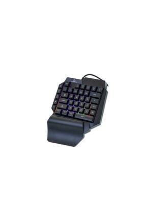 TKZ Lunatic Kb-l24 Rgb Mekanik Hisli Mini Gaming Oyuncu Klavyesi 1