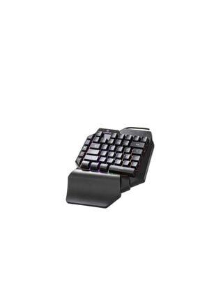 TKZ Lunatic Kb-l24 Rgb Mekanik Hisli Mini Gaming Oyuncu Klavyesi 2