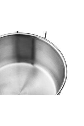 Madame Coco Orva Paslanmaz Çelik Tava - 24 cm 2