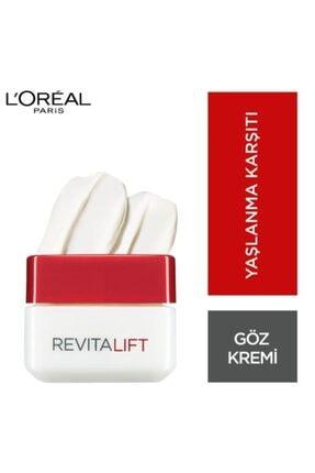 L'Oreal Paris Revitalift Eye Cream Kırışıklık Karşıtı Sıkılaştırıcı Göz Kremi 15 Ml 1