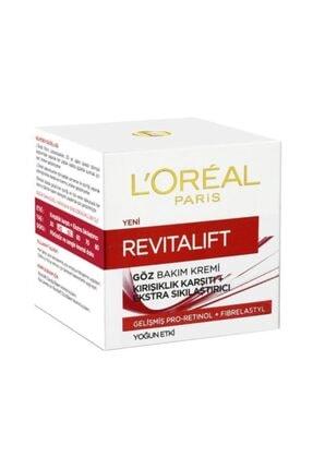 L'Oreal Paris Revitalift Eye Cream Kırışıklık Karşıtı Sıkılaştırıcı Göz Kremi 15 Ml 2