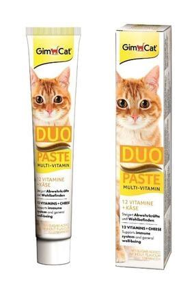 Gimcat Duo M.vitamin Paste Peynirli 50 Gr 0