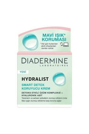Diadermine Hydralist Smart Detox Koruyucu Krem 50ml 0