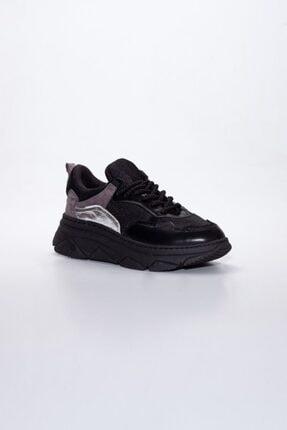 Kadın Siyah Spor Ayakkabı Elly-Siyah