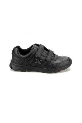 Kinetix Kadın Siyah Cırtlı Günlük Spor Ayakkabısı 1
